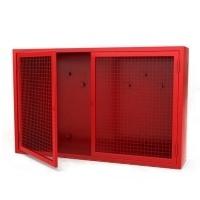Металлические пожарные щиты, шкафы шпк пожарного крана