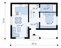 Строительство домов по каркасной технологии ЛСТК по проекту ЭНЕЙ.