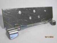 Кляммер скрытого крепления КГ-с рядовой AISI 304 1.2мм