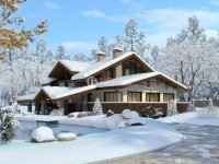 Проект дома «Ломоносов» 14.6 х 17.5