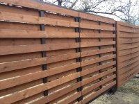 Деревянный забор под ключ