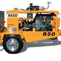 Бетононасос  REED (США) B50 38 куб.м/час -  горизонт 365 м, вертикаль 137м