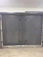 Ворота распашные металлические (Изготовим)