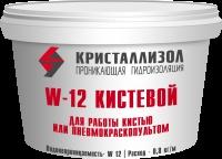 Проникающая гидроизоляция Кристаллизол W12-Кистевой, 15 кг