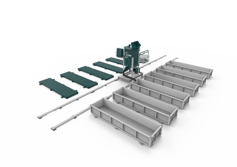 Стационарная линия для производста газобетона РТМ-10С
