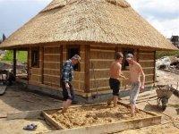 Солома в тюках для строительства домов