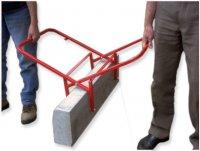 Новый захват для установки бордюрного камня, «Капкан»