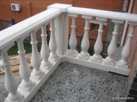 Балясина бетонная белая