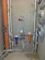 Замена и монтаж труб водоснабжения