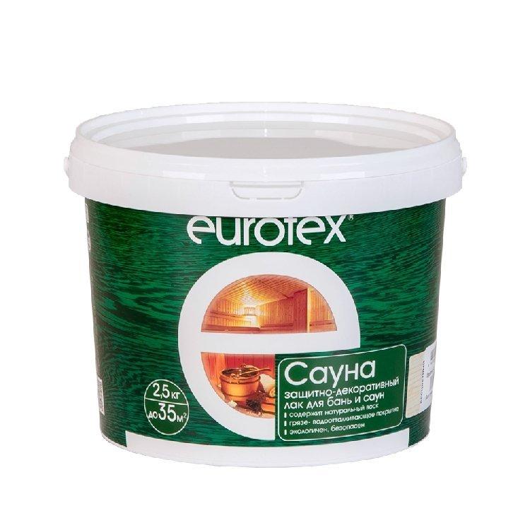 Лак для саун Eurotex