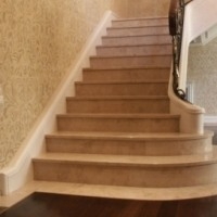 Лестницы, ступени из мрамора