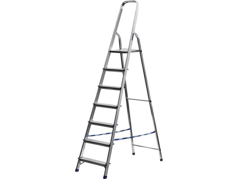 Лестница-стремянка СИБИН алюминиевая, 10 ступеней, 208 см, Артикул 38801-10