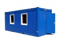 Модульный блок-контейнер с применением сэндвич-панелей