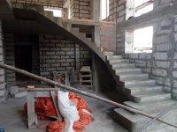 Строительство  бетонных лестниц
