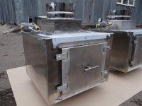 Проточный вертикальный гидрофильтр Ф450 мм для мангалов