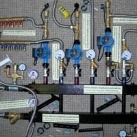 Коллектора отопления с гидрострелкой для системы отопления
