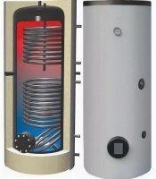 Монтаж бойлера косвенного нагрева до 200 л.