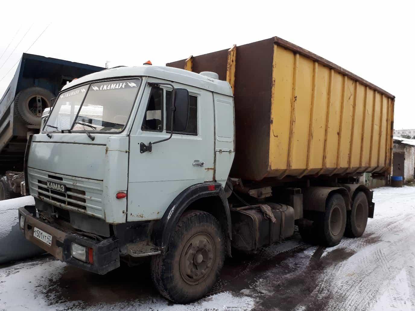 Вывоз строительного мусора в ЛО