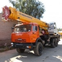 Автокран 25 тн