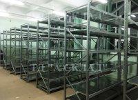 Cреднегрузовые полочные металлические стеллажи от завода