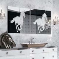 Декоративные зеркальные панно