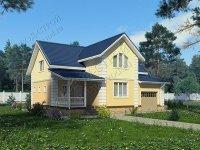 Проект кирпичного дома С-237 К