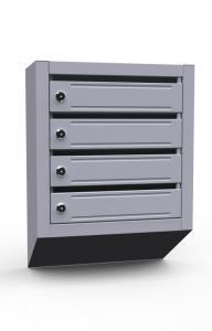 Ящик почтовый купить 4 х секционные