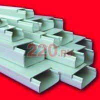 Кабель канал 20х10 мм (короб для проводов миниканал MEX 20Х10), Экопласт - 77001