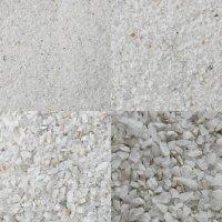 Песок кварцевый белый в АССОРТИМЕНТЕ