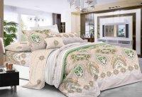 Комплект спального белья 1,5 сп. бязь набивная пл.100 гр/м2