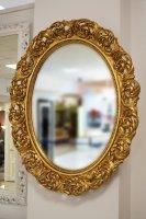 Зеркало овальное в раме