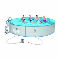 Бассейн сборный круглый 460х90см, Bestway Hydrium Pool, металлический каркас, 56386