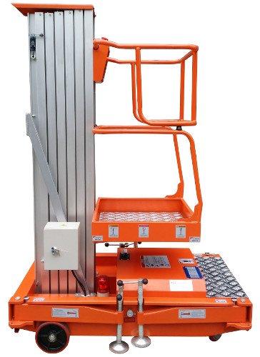 Подъемник телескопический мачтовый одноместный передвижной GTWY 6.1000, 8.1000, 10.1000