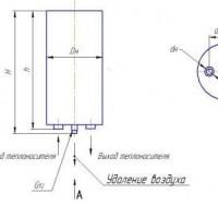 Воздухосборник вертикальный и горизонтальный  А1И