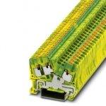 Клемма защитного провода - PTS 2,5-TWIN-PE - 3211935 Phoenix contact