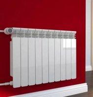 Монтаж радиатора отопления (Ал., б/м., сталь)