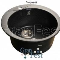 Мойка гранитная D480 GranFest