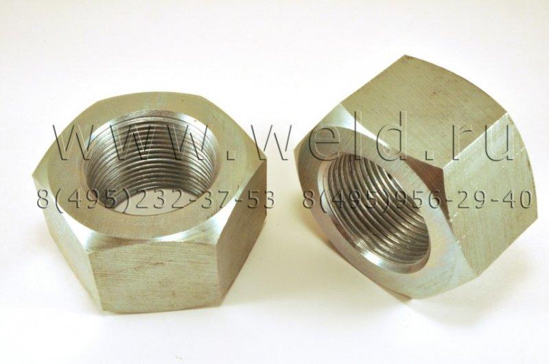 Нержавеющие гайки М20-48 мм сталь А2, А4, 12Х18Н10Т, 20Х13