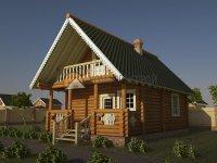 Срубы деревянных домов и бань из Вологды