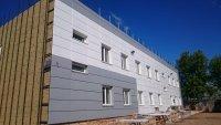 В Санкт Петербурге и области выполним монтаж вентилируемых фасадных систем, фасадного остекления.