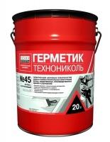 Герметик бутил-каучуковый ТехноНИКОЛЬ № 45 16кг