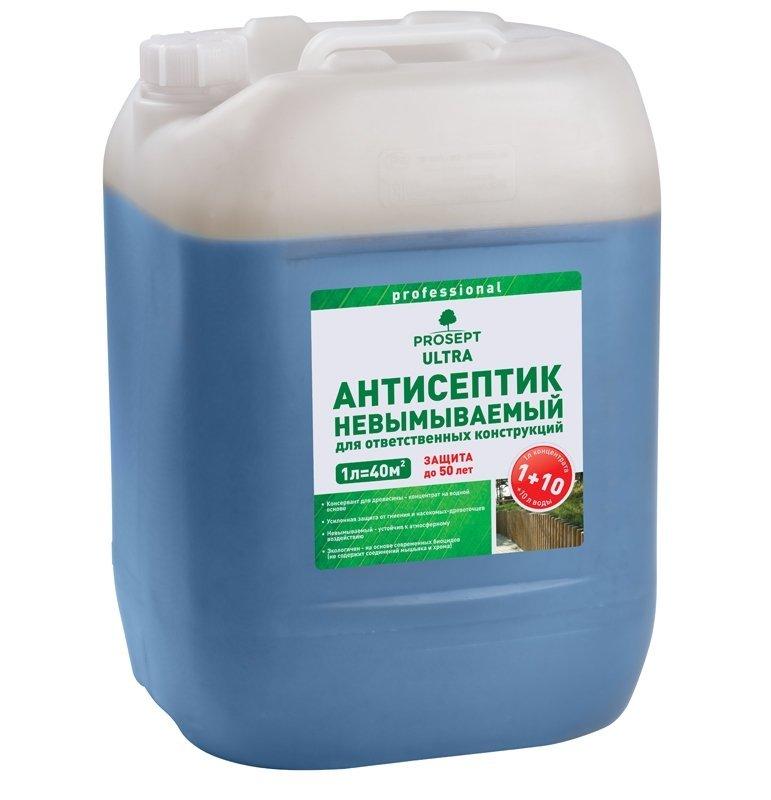 Антисептик для наружных работ Prosept Ultra, 30 л