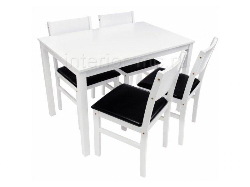 Обеденная группа Kabur (стол и 4 стула)