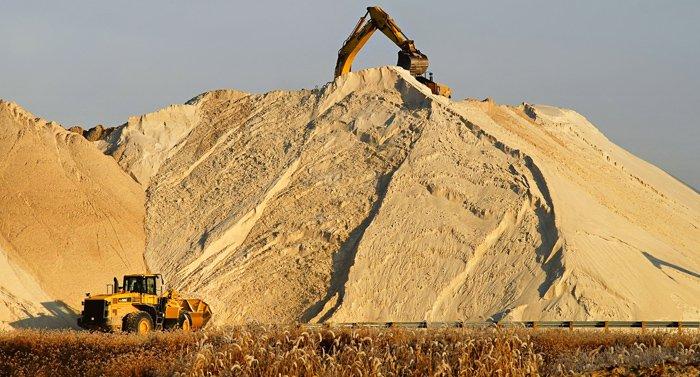 Доставка песка .