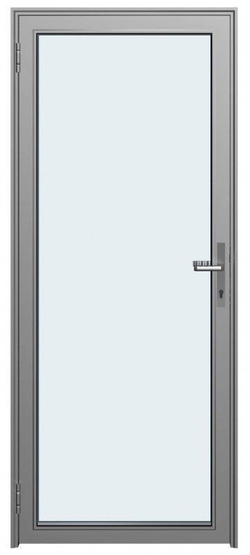 Дверное полотно на основе алюминиевого профиля Серия Double Vitrage 1