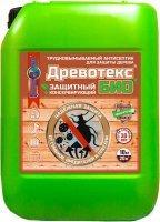 Древотекс БИО — защитно-консервирующий антисептик для дерева, 20кг