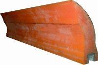 Скребки полиуретановые для очистки конвейерной ленты