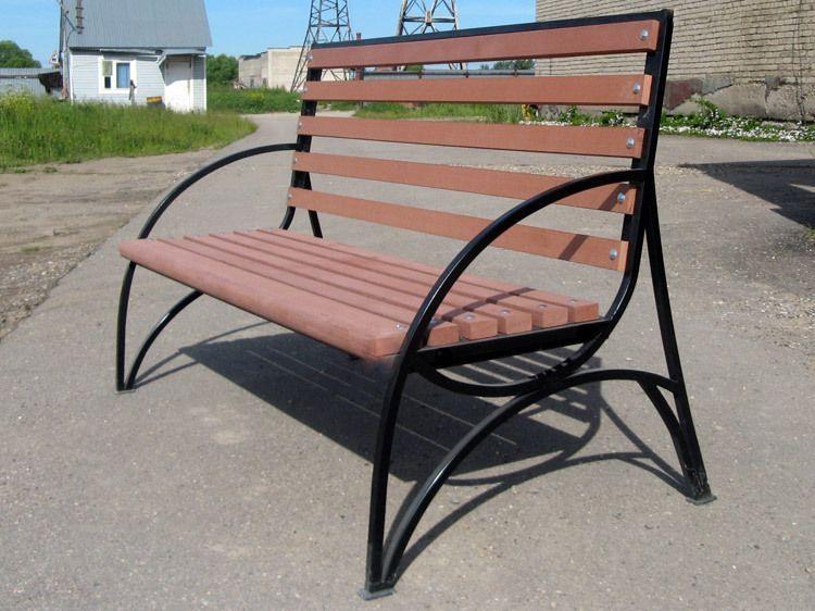 Скамейка садовая СП-006