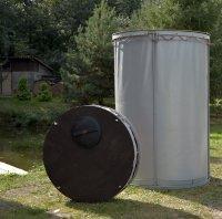 Объем 1,15 м3. Резервуар разборный, вертикальный в защитном пенале (РРВ-1,15)
