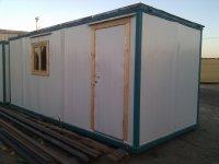 Блок-контейнер (строительная бытовка) с электрикой